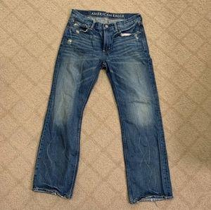 American Eagle Mens Low Rise Boot Cut Jean